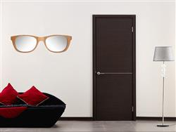 Natural Eyeglass Wall Mirror