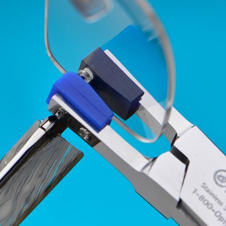 Rimless Eyeglass Bushings : Hand Friendly Rimless Bushing Pressing Pliers