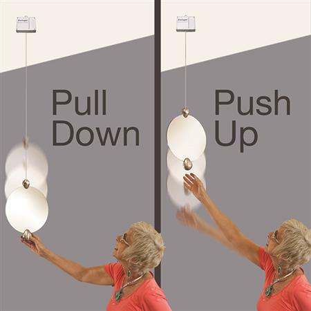 Ceiling Mounted Retractable Swinger® Mirror